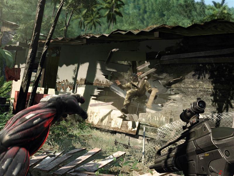 Crise na Favela: personagem principal jogando terrorista no barraco